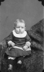 Everett Lafayett Rawlins Baby Portrait