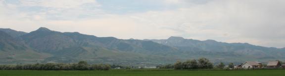 Lewiston Utah Landscape